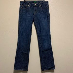 Lilly Pulitzer palm beach fit straight leg jeans